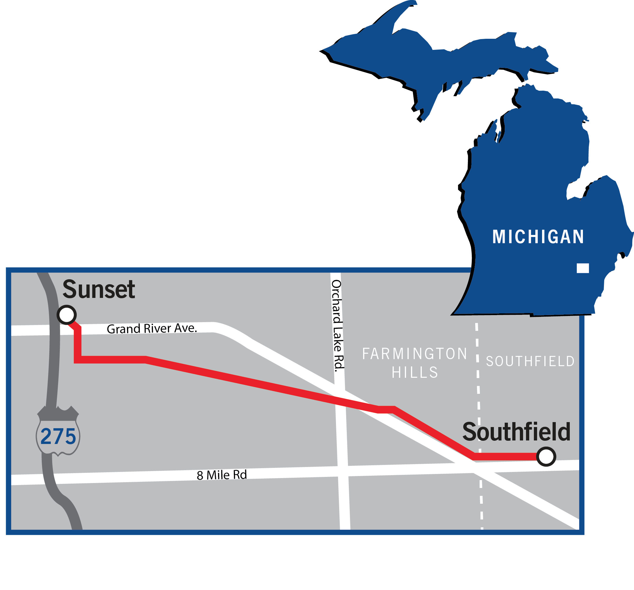 map_Southfield-Sunset_0715